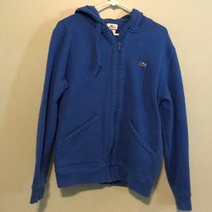 Lacoste zip up sweatshirt 6